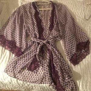 Anthropologie kimono robe